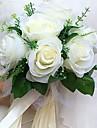 """Flori de Nuntă Rotund Trandafiri Buchete Nuntă Petrecere / Seară Satin 8.66""""(Approx.22cm)"""