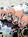 1pcs Foil Stripping Tape Nail Stamping Template Daily Glitters Fashion High Quality