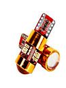 10pcs T10 Mașină Becuri 3 W SMD 3014 200 lm 27 LED Luminile de margine laterale Pentru
