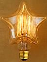 edison galben decorare lumina retro lampa lampa tungsten sursa de lumina (e27 40w)