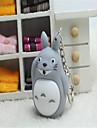 Totoro ledde lysande röst prydnader tecknade kreativa nyckelring