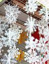 6pcs Motif de flocon de neige Decorations de vacances 28 22 14 11 8.5 6