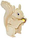 Ξύλινα παζλ Σκίουρος επαγγελματικό Επίπεδο Ξύλινος 1pcs Παιδικά Αγορίστικα Δώρο