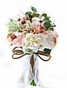Flori de Nuntă Rotund Trandafiri Bujori Buchete Nuntă Petrecere / Seară Poliester Satin Taftă Dantelă Spandex Flori Uscate Ștras