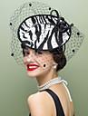 lână de țesături fascinatoare net de pălării coafura stil clasic feminin