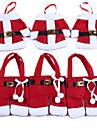6buc / 3Setați tacâmuri de Crăciun set Set tacâmuri decorative de pe desktop