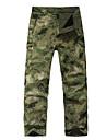 Unisexe Pantalons de Chasse Camouflage Etanche Garder au chaud Pare-vent Doublure Polaire Isole Respirable Protectif camouflage pour Ski