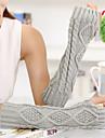 simplu geometric tricotaje cot lungime jumătate deget femei drăguț / partid / mănuși de iarnă casual,