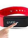 NO Smart armband / Aktivitetsmonitor / ArmbandBrända Kalorier / Stegräknare / Röstmeddelande / Hälsovård / Sport / Touch Screen /