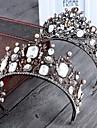 Imitație de Perle Aliaj Diademe Banderolele Ghirlande 1 Nuntă Ocazie specială Casual Diadema
