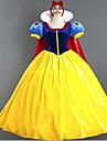Prințesă DinBasme Costume Cosplay Costume petrecere Feminin Halloween Carnaval Festival/Sărbătoare Costume de Halloween Albstru+Galben