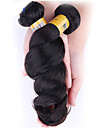 Human Hår vävar Brasilianskt hår Löst vågigt 1 st. hår väver