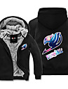 Inspirado por Fairy Tail Cosplay Anime Disfraces de cosplay sudaderas Cosplay Estampado Manga Larga Top Para Hombre / Mujer / Unisex