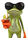 ziqiao de broască 3d impermeabil masina autocolant auto amuzant gecko&Motocicleta Decal autocolant
