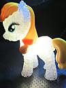1st 5.5cm * 14cm färg missfärgning söt ponny ledde liten natten lyser barnen semester gåva leksak