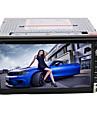 6,95 tum 2DIN in-dash bil dvd-spelare med bt, FM, iPod, rds + fria bakre viwe kamera