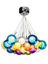 Glob Traditionell/Klassisk Modern LED Hängande lampor Glödande Till Sovrum Matsalsrum Studierum/Kontor Barnrum Korridor Varmt vit