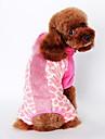 Câine Costume Îmbrăcăminte Câini Draguț Cosplay Animal Maro Roz Costume Pentru animale de companie