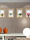Autocolante de Perete Decorative - 3D Acțibilduri de Perete Modă / Florale / #D Sufragerie / Dormitor / Baie