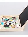 Puzzle / Stack magnetic / Jucării Educaționale Novelty De lemn Fete Cadou