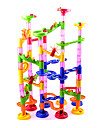 Marble Run Race Construction Marble Track Set Marble Run STEAM Toy Novelty 105 pcs Kid\'s Unisex Boys\' Girls\' Toy Gift