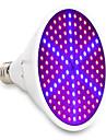 1 buc 15W 1000lm E26 / E27 Culoarea becului crescând 126 LED-uri de margele SMD 5730 Decorativ Albastru Roșu 85-265V