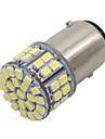 10x 50smd alb 1206 a condus T25 1157 BAY15d becuri cu lumină lampă semnal de oprire frână nou