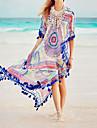 Pentru femei Șal - Imprimeu, Multicolor Imprimeu reactiv Bikini cu Șnur