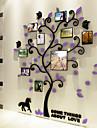 Botanisk Väggklistermärken Väggstickers i 3D Dekrativa Väggstickers, Vinyl Hem-dekoration vägg~~POS=TRUNC Vägg
