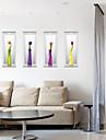 Modă Florale #D Perete Postituri Autocolante perete plane 3D Acțibilduri de Perete Autocolante de Perete Decorative,Hârtie MaterialPagina