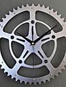 1pc 30 * 30cm metale metalice stil metalic mut de perete ceas decoratiuni mobilier de casa