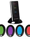 CSYP Wireless Others Key Finder With Remote Control LED Flashlight Estompeze Negru