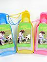 Pisici Câine Boluri & Sticle de Apă Animale de Companie  Castroane & Hrănirea Portabil Roșu Albastru Galben Plastic