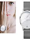 Pentru femei Ceas Elegant Ceas La Modă Ceas de Mână Ceas Brățară Quartz Plin de Culoare Mare Dial Oțel inoxidabil Bandă Vintage Punct