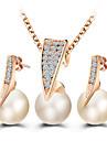 Pentru femei Set bijuterii - Prinţesă Clasic Include Auriu Pentru Nuntă / Petrecere / Ocazie specială / Zilnic / Casual