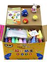 KEAIHAO Putties Jucați aluat, plastilină și Putty Jucării Educaționale Alină Stresul Reparații Novelty Încântător