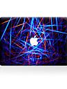 1 piesă Rezistent la Zgârieturi Geometric Plastic Transparent Autocolant Corp Model PentruMacBook Pro 15\'\' with Retina MacBook Pro 15 \'\'