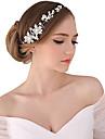 Perle Cristal Material Textil Aliaj Diademe Banderolele Flori Lantul Capului 1 Nuntă Ocazie specială Party / Seara În aer liber Diadema