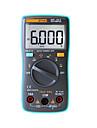 zotek zt101 handhållen digital multimeter 6000 räknare bakgrundsbelysning ac / dc ammeter voltmeter ohm meter bärbar