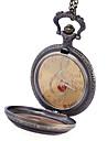 JUBAOLI Ανδρικά Ρολόι Τσέπης Χαλαζίας Μπρονζέ Καθημερινό Ρολόι / Αναλογικό Καθημερινό - Χρυσό Μαύρο Πορτοκαλί