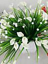 1 Gren Plast Lilja Bordsblomma Konstgjorda blommor