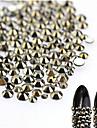 About 500pcs/bag Bijoux a ongles Elegant & Luxueux Brille & Scintille Luxe Design Tendance Mousseux Style Crystal / strass Cristal / Stras