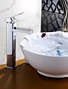 Moderne Set de centre Separe with  Soupape ceramique Mitigeur un trou for  Chrome , Robinet lavabo