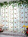 Penn veck En panel Fönster Behandling Designer Europeisk Nyklassisistisk Vardagsrum Polyester Material Skira Gardiner Shades