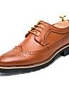 Homme Chaussures Cuir Printemps / Automne Confort / Gladiateur / chaussures Bullock Oxfords Noir / Marron / Chaussures formelles