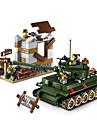 ENLIGHTEN Building Blocks Educational Toy 214 pcs DIY Classic Tank Unisex Boys\' Girls\' Toy Gift