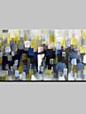 Pictat manual pictat cu ulei de culoare pictura pe panza pe panza imagine de arta de perete pentru decor acasă gata să atârne