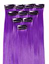 A Clipser Synthetique Extensions de cheveux 25 18 Extension des cheveux