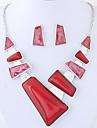 Pentru femei Set bijuterii - Modă, Euramerican Include Rosu / Albastru Pentru Petrecere / Zilnic