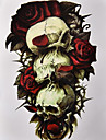 1 Tatueringsklistermärken Blomserier MönsterDam Herr Blixttatuering tillfälliga tatueringar